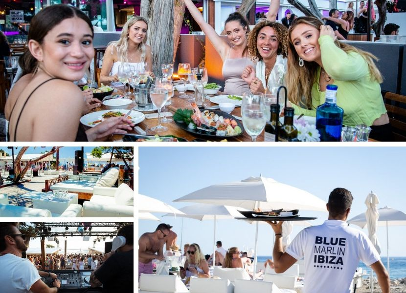 Blue Marlin beachclub Ibiza
